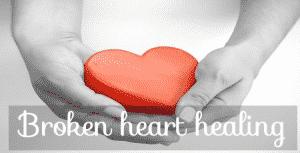 broken heart healing, mending & healing a broken healing